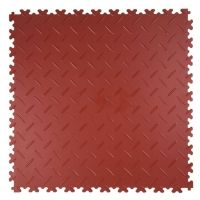 Vinylgolv PVC 508x508 mm - Terracotta
